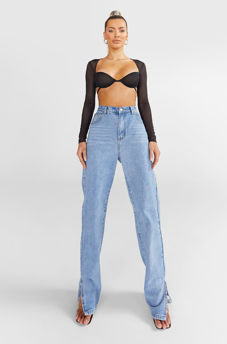 Denim Fit - Straight Jeans