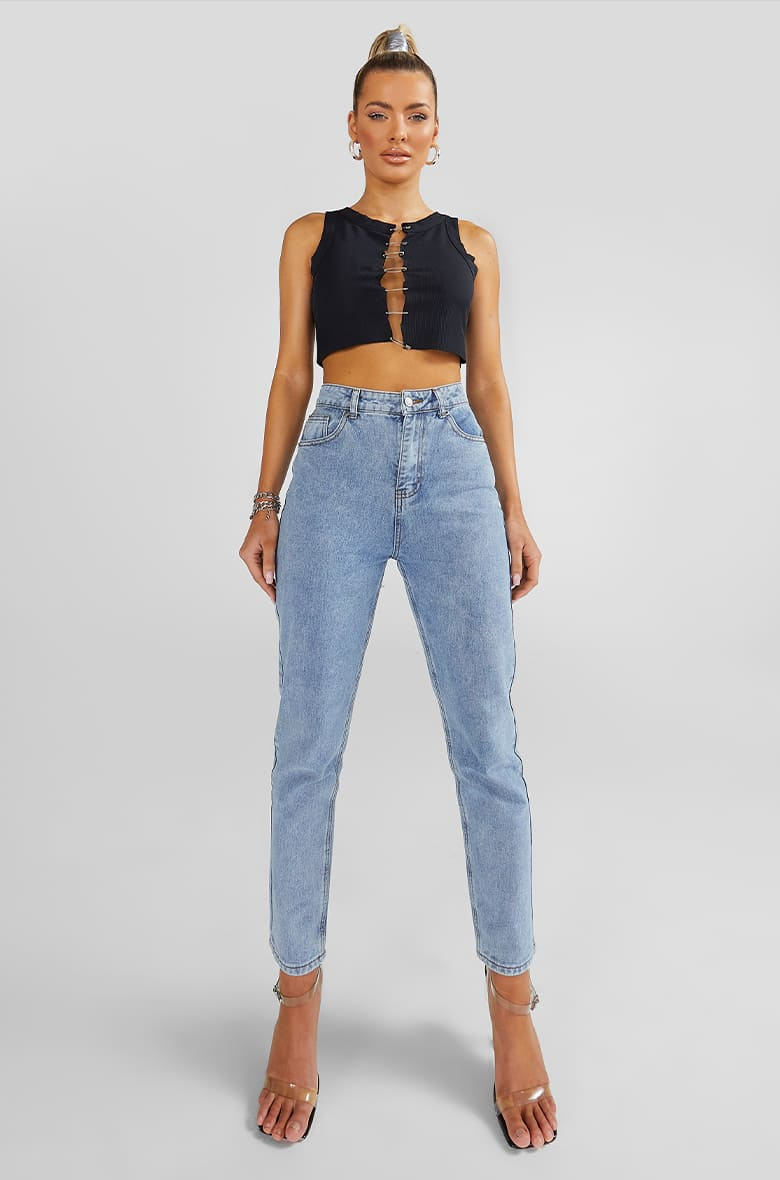 Denim Fit - Mom​ Jeans